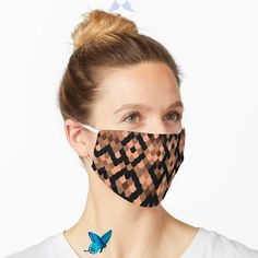 """'Snake Pattern' Mask by joom8 - All About Hygiene """"Snake Pattern"""" Mask by joom8 