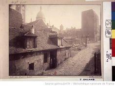 Rue du Mont Cenis [Le dix-huitième arrondissement de Paris] / Eugène Atget 1924