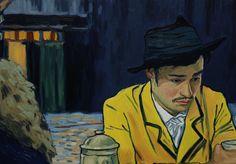 80 minutos de película en la que cada fotograma está compuesto por una pintura al óleo. En total: más de cien artistas han elaborado