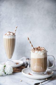 Chocolate Bourbon, Chocolate Coffee, Chocolate Desserts, Sweet Recipes, Snack Recipes, Jar Recipes, Snacks, Vanilla Iced Coffee, Coffee Coffee