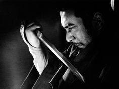 Zatoichi the Blind Swordsman.  Played here by Japanese actor Shintaro Katsu.