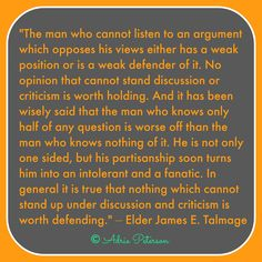 "Yes, I'm sharing my own blog post, ""Opinions,"" on my page about opinions! Ha ha. :)"