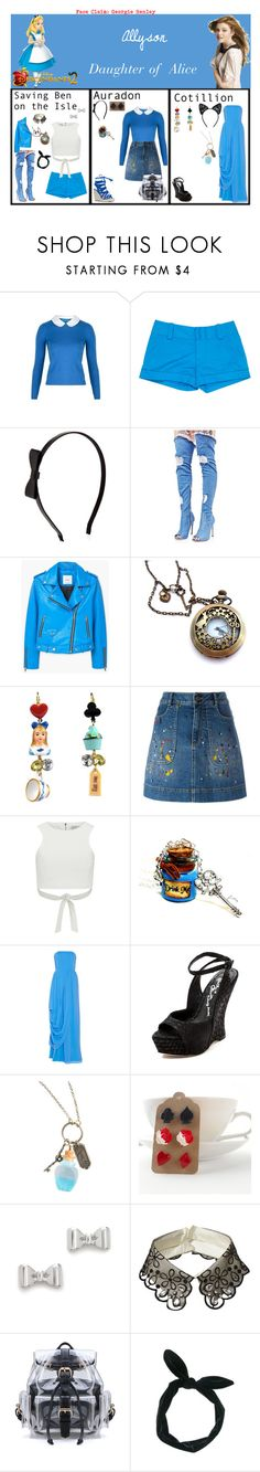 """Allyson. Daughter of Alice. Descendants 2"" by elmoakepoke ❤ liked on Polyvore featuring Disney, Alice + Olivia, Accessorize, Cape Robbin, MANGO, Lavish Alice, Marc by Marc Jacobs, Riviera and Maison Close"