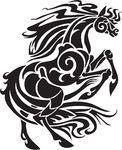 馬, 種族, スタイル, -, ベクトル, イラスト -... csp9759286のクリップアートベクター - クリップアート、イラスト、絵、EPSベクターグラフィック画像を検索する