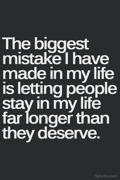 It was the biggest mistake.. thank God i'm over it.. and it's DONE!!
