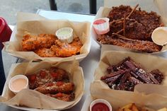 Sticky's Finger Joint assortment of chicken fingers    #TableFull #mouthwatering #chickenfingers