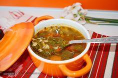 Reteta culinara Ciorba de loboda din Carte de bucate, Borsuri, supe, ciorbe. Specific Romania. Cum sa faci Ciorba de loboda