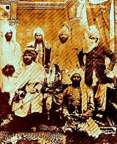 Old portrait of Khan of Kalat Mir Khudadad Khan Balochistan Pakistan