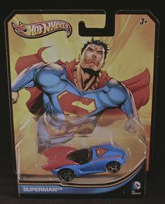 Amazon.com: 2012 Hot Wheels DC Universe SUPERMAN 1:64 Scale Collectible Die Cast Car: Toys & Games