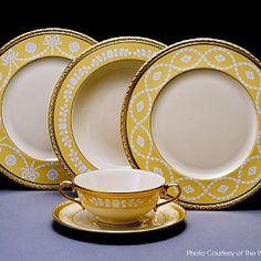 White House China of President William Jefferson Clinton. www.pinkpillbox.com