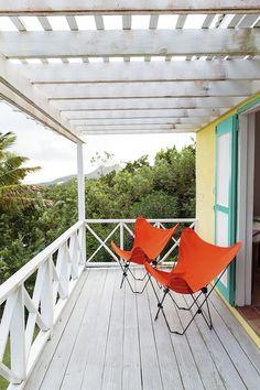 Helen Marden's Golden Rock Inn in Nevis, Caribbean. 11 Cottages tucked into the hillside surrounded gardens.