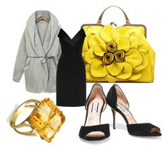 Untitled #19 by anu-lehtonen on Polyvore featuring polyvore, fashion, style, La Mania, Lucy Choi London and clothing