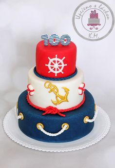Sailor's double 50 - Cake by Tynka