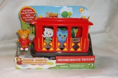 Amazon.com: Daniel Tiger's Neighborhood: Neighborhood Trolley. Includes Daniel Tiger Figure: Toys & Games