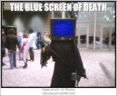 Hahaha. Tech Geek joke. Geez so true computers fustrate me. funny-memes-02