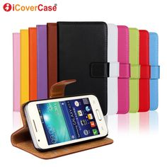 For Samsung Galaxy Ace 4 Neo g318h Trend 2 Lite Case S6 S7 Edge Plus S2 S3 S4 S5 Mini A3 A5 A7 2016 Coque Fundas Wallet Leather
