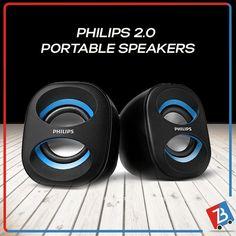 Philips Portable Speakers Buy Online ZabraBox 2