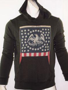 Denim & Supply Ralph Lauren American flag french terry hoodie size XXL NEW  #DenimSupplyRalphLauren #Hoodie
