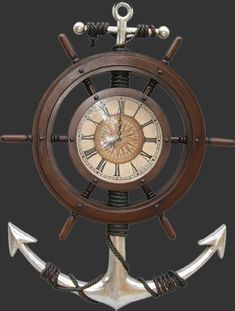 Nautical Clock  theinteriorgallery.com