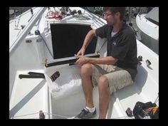 APS Pro Spinnaker Launching Bag Review - YouTube Sailboat Racing, Sailing, Bag, Youtube, Candle, Bags, Youtubers, Youtube Movies