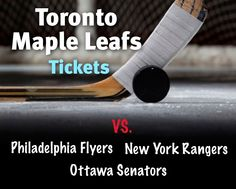 $138 and Up for a Ticket to Toronto Maple Leafs vs. New York Rangers on February 10, 2015 OR vs. Philadelphia Flyers on February 26, 2015 OR vs. Ottawa Senators on April 5, 2015 at the ACC February 10, Philadelphia Flyers, Toronto Maple Leafs, New York Rangers, Ottawa, Ticket, Sports, Sport