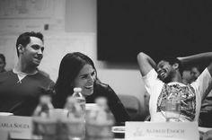 Karla Souza, Matt Mcgorry, and Alfred Enoch || HTGAWM