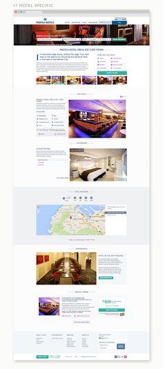 Protea Hotels Redesign on Behance Hotel Website, Web Inspiration, Hotels, Behance, Inspire