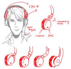 6* Art references and Resources, Hi~ I was in the middle of browsing you helpfulthings stuffs and wondering if you have some tips about headphones and earphones^^ Thanks a bunch in advance if you are willing to do one ^^
