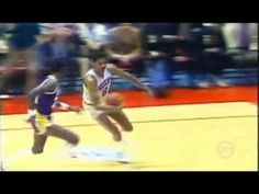 Best In Game Dunk Ever?  Dr. J Julius Erving Dunks On Michael Cooper  YouTube now has social media icons that appear at the end of videos.  Check it out.