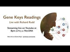 Live Gene Keys Readings with Richard Rudd (Nov24th) - YouTube