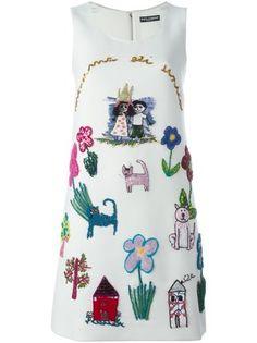 Dolce & Gabbana Vestido com bordado