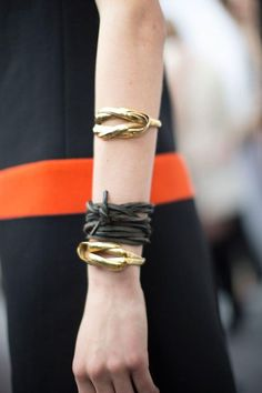 Roped.. #Gold #Bracelets #Rope #TiedUp #Jewellery