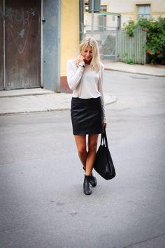 Style...Tuva Malmo // Black & White look
