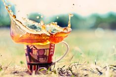 Tea BOOM by Tamerlana.deviantart.com on @DeviantArt