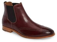 #boots #workboots #motorcycle #menswear - J AND M 1850 Graham Chelsea Boot (Men) by Nordstrom Rack...