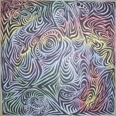Abstract(colored pencil/pen)