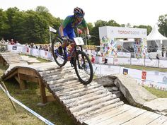 Isabella Moreira Lacerda of Brazil competes in the