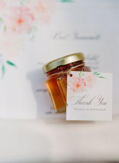 Hawaiian Honey Wedding Favors by Moana Events