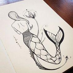a primeira ⚡️ 4yrs ago • quando começou essa maluquice de todas vocês quererem tatuar sereias e eu já não ter nem por onde mais inventar sereias novas