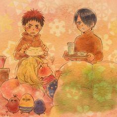 Kuroko no Basuke - Kagami, Himuro, and Alex