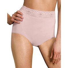b4182de28b38 Bali® 2744 Lacy Skamp Brief Panty. Live Beautifully® Lace-lavished Bali  panties caress your every curve and virtually disappear under your clothes!