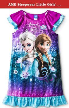 Disney Frozen Princess Anna Elsa Top Shirt Girl Size 5 White Pink Polka Dot