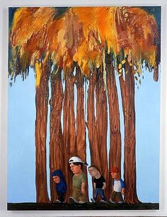Nicole Eisenman  15600  oil on canvas