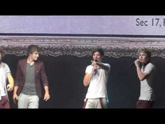 Liam. Singing. Climax. Niall. Singing. Payphone. *inserts the exploding ovaries*