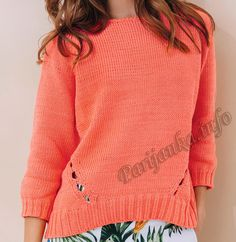 Пуловер (ж) 18*140 Phildar №5000 Rubrics, Pulls, Pullover, Knitting, Sweaters, Catalogue, Jumpers, Parfait, Inspiration