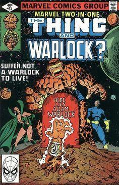 The Thing, Moondragon, Starhawk & Adam Warlock!!