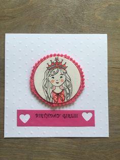Birthday Card Girl £3.80