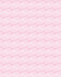 free printable: pink arrows pattern paper