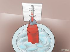Make a Homemade Thermometer! Great weather or medical activity for science class. #STEM #handson