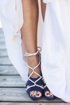 loving this strappy sandal